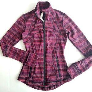Lululemon   Regal Plum Twist Define Jacket Size 2